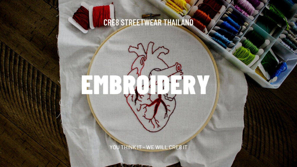Embroidery in the Garment Industry